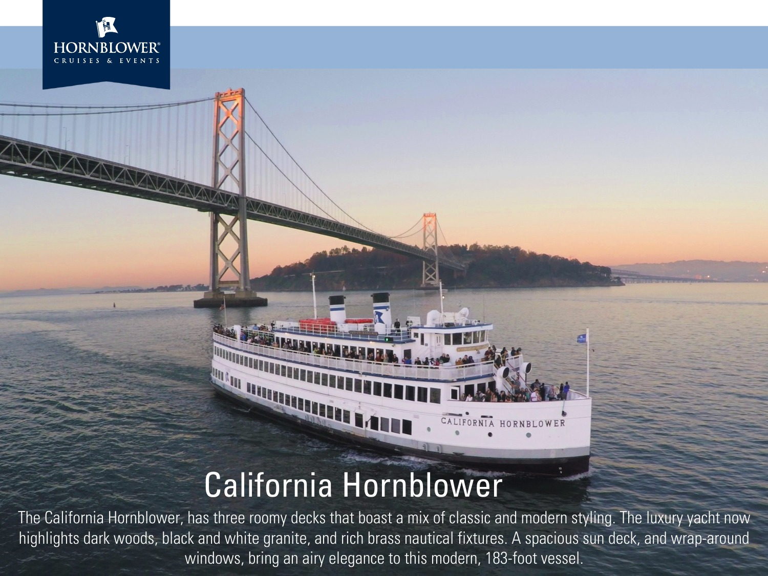 December 14, 2017 Holiday Dinner & Dancing Cruise on the Bay @ Hornblower Cruise Lines | San Francisco | California | United States