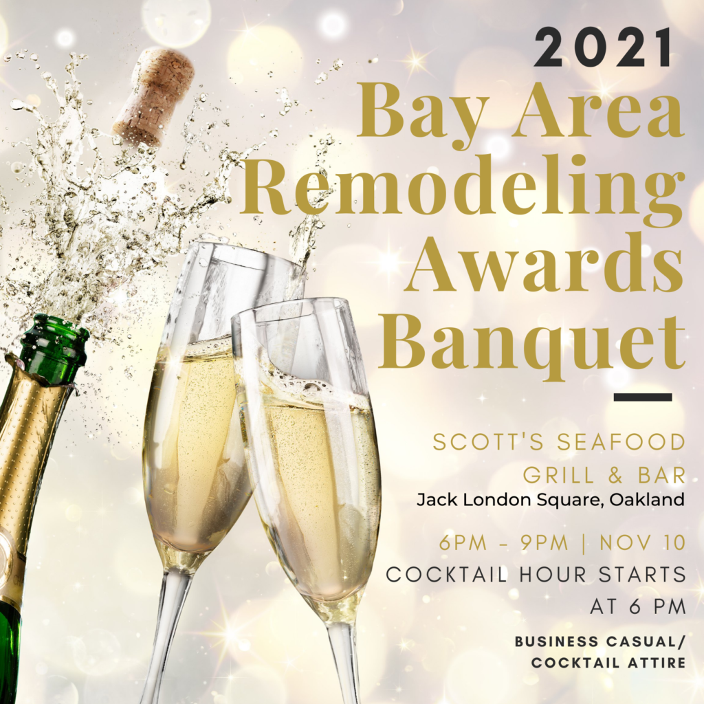 Bay Area Remodeling Awards Gala [Remmies] @ Scott's Seafood Jack London Square